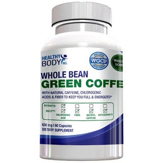 Whole Bean Green Coffee Weight Loss Supplement (60 Capsules)