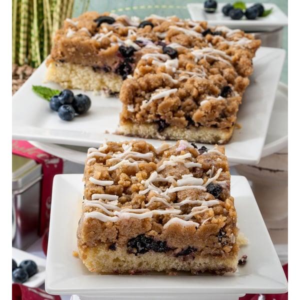 Dulcet's Blueberry Crumb Cake Dessert Cake Gift Box
