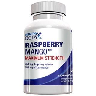 Healthy Body Raspberry Mango Supplements (60 Count)