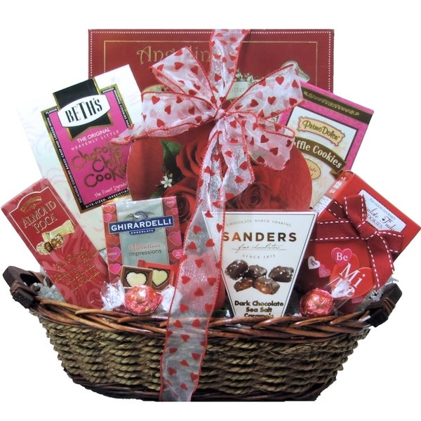 My Sweet Valentine Valentine's Day Chocolate and Sweets Gift Basket