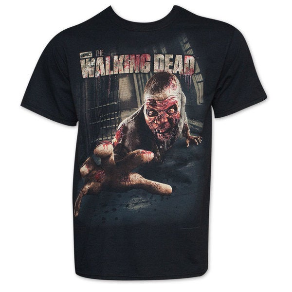 The Walking Dead Men's Crawling Zombie T-shirt