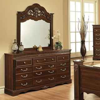 Sandberg Furniture Alexandria Dresser and Mirror