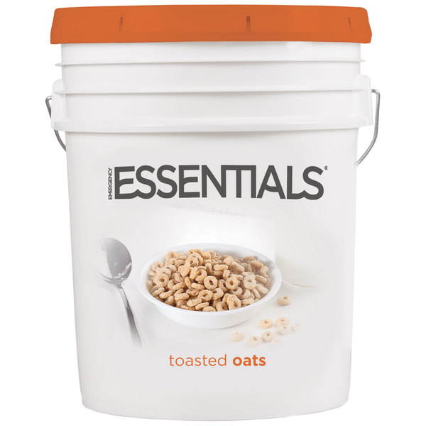 Emergency Essentials Toasted Oats Super Pail