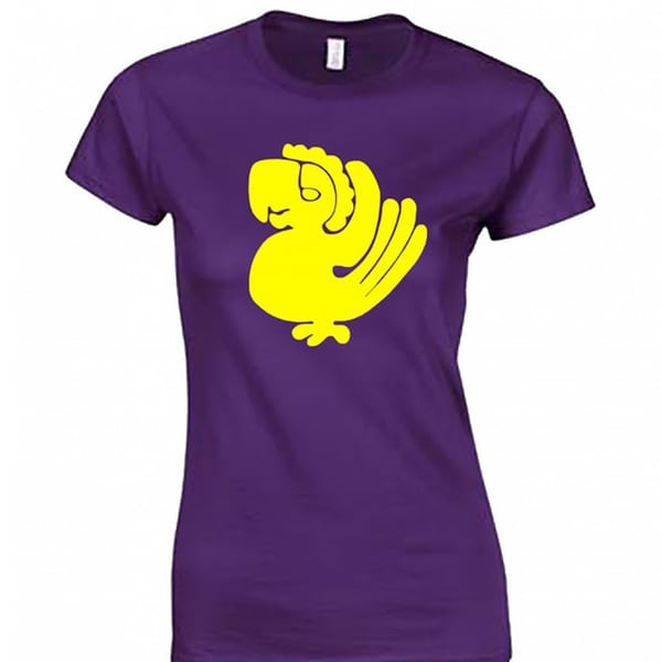 Women's Purple Parrots Team T-shirt