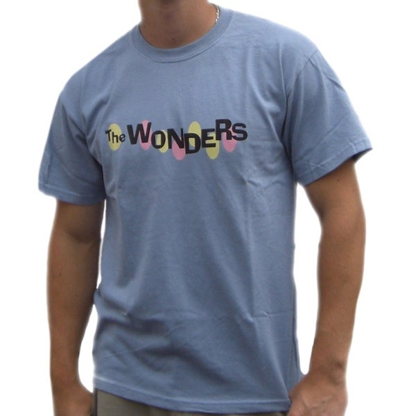 Men's The Wonders Band Blue T-shirt