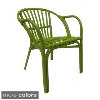 Karen Rattan Arm Chair