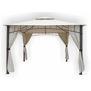 Soho 10' x 12' Square Column Two-Tier Gazebo