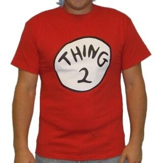 Men's Red 'Thing 2' T-shirt