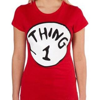 Women's Red 'Thing 1' T-shirt