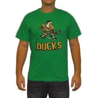 Ducks Green Cotton Jersey T-shirt