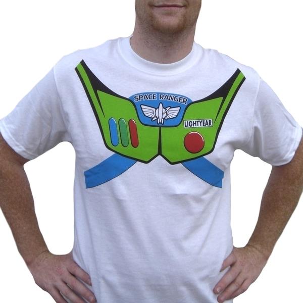 Men's Buzz Lightyear Toy Story T-shirt Costume