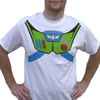 Men's Buzz Lightyear Toy Story T-shirt Costume