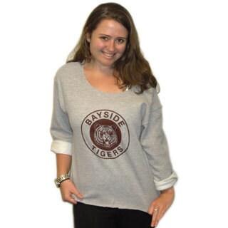 Women's Kelly Kapowski Bayside Tigers Off The Shoulder Sweatshirt
