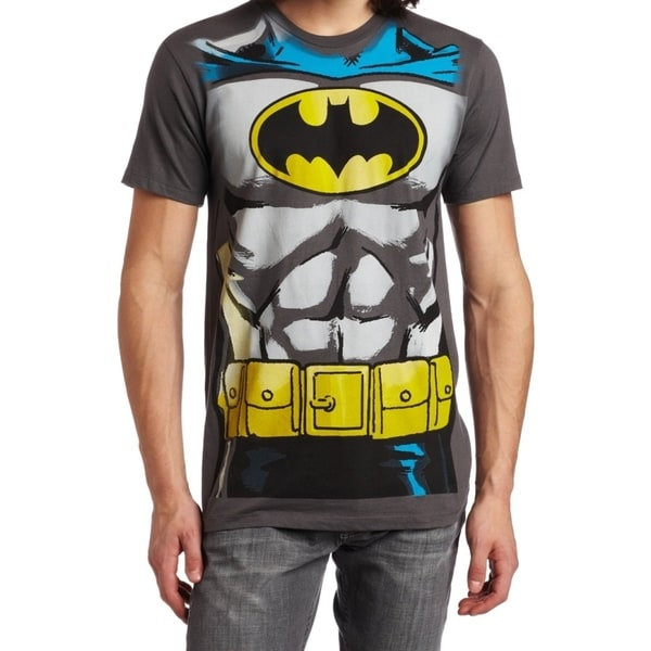 Batman Charcoal Cotton T-shirt