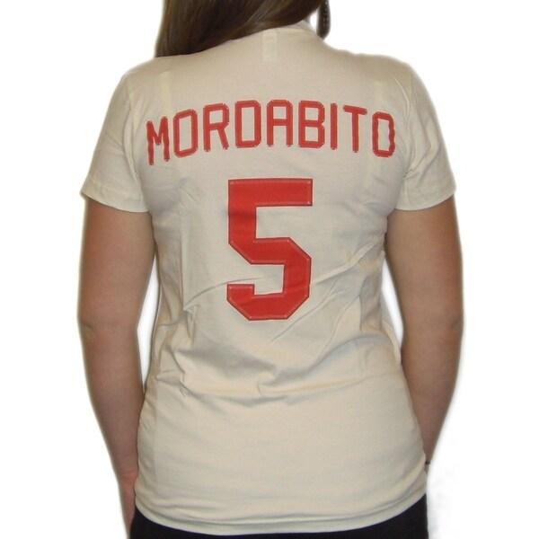 Mae Mordabito Rockford Peaches Jersey T-shirt