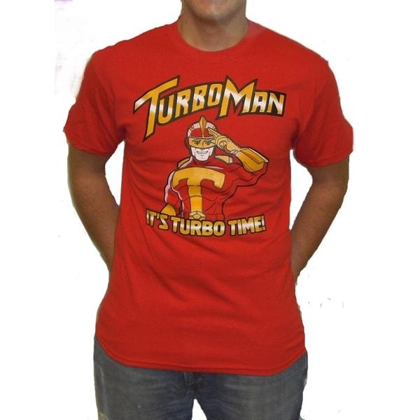 TurboMan It's Turbo Time T-shirt