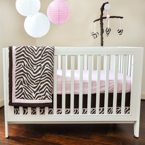 Pam Grace Creations Zara Zebra 10-piece Bedding Set