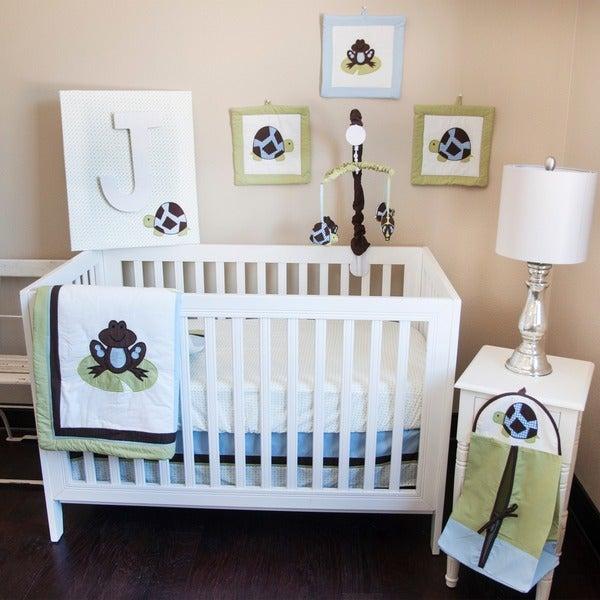 Pam Grace Creations Mr. & Mrs. Pond 10-piece Bedding Set