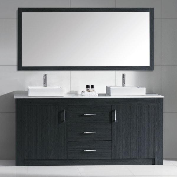 72 Inch Double Bathroom Vanity Cabinet