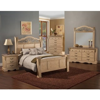 Sandberg Furniture Belladona Palace Bedroom Set