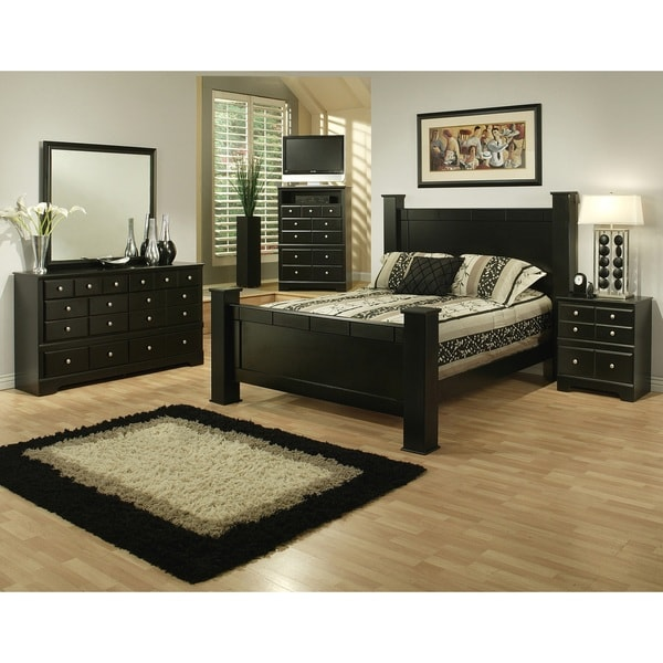 Sandberg Furniture Elena Bedroom Set