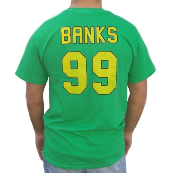 Ducks Adam Banks 99 Jersey Green Cotton T-shirt
