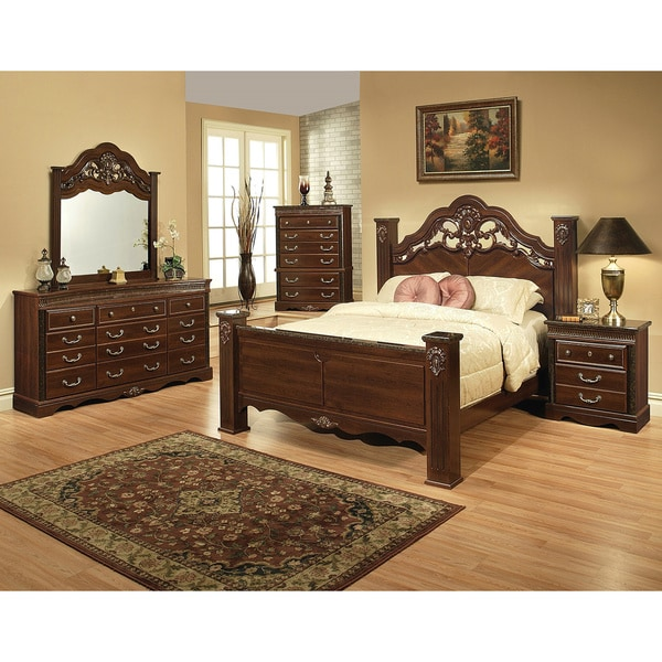 Sandberg Furniture Alexandria Bedroom Set 14716601 34100 Q D M NS
