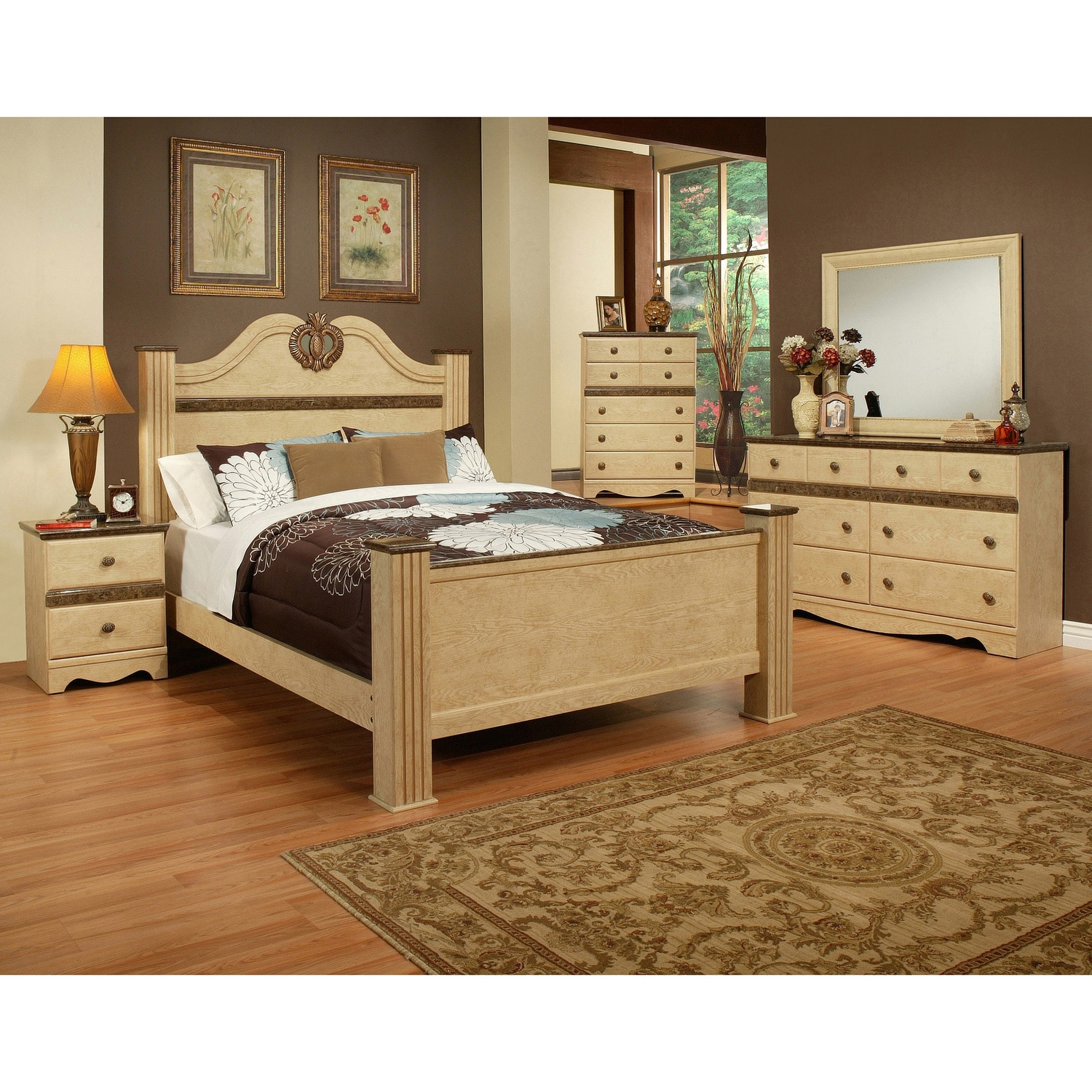 sandberg furniture casa blanca bedroom set overstock shopping big