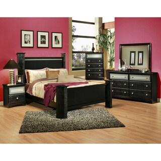 Sandberg Furniture Midnight Sky Bedroom Set