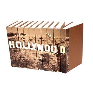 Hollywood Decorative Books (Set of 10)