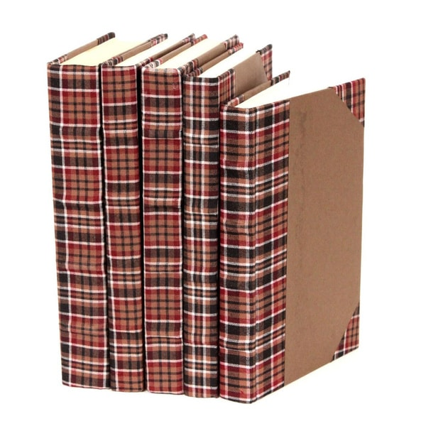 Bespoke Brown Decorative Books (Set of 5)