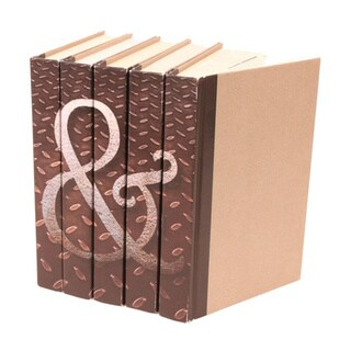 Image Collection Ampersand Decorative Books (Set of 5)