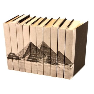 Image Collection Pyramids Decorative Books (Set of 10)
