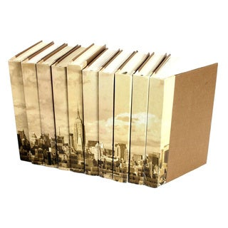 Image Collection New York Decorative Books (Set of 10)
