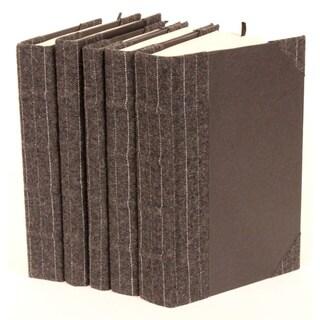 Bespoke Pin Stripe Decorative Books (Set of 5)