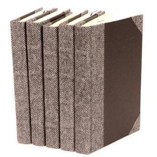 Bespoke Grey Suit Decorative Books (Set of 5)