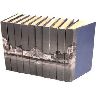Image Collection The Louvre Decorative Books (Set of 10)