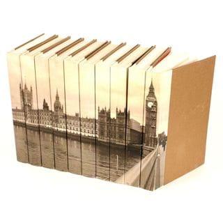 Image Collection Big Ben Decorative Books (Set of 10)