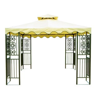 10'x10' Steel Frame Two Tier Gazebo