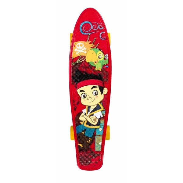 Disney Jake and the Pirates 21-inch Kids Plastic Complete Skateboard