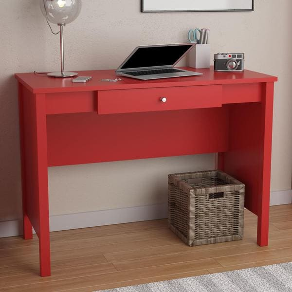 Avenue Greene Ruby Red Desk 16949769 Overstock Com