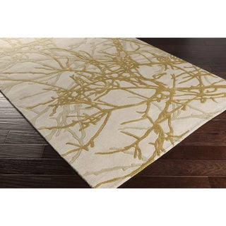 Jef Designs :Hand-Tufted Jeremy Contemporary Wool Rug (5' x 8')