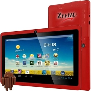 "Zeepad 7DRK-Q 4 GB Tablet - 7"" - Wireless LAN - Allwinner Cortex A7 A"