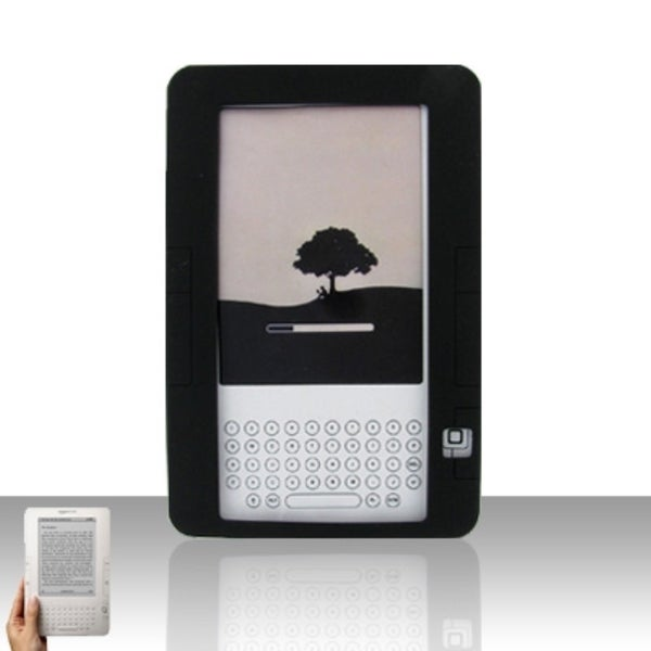 INSTEN Soft Silicone Gel Rubberized Matte Phone Case Cover For Amazon Kindle 2 2009