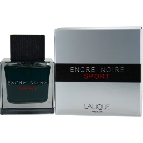 Lalique Encre Noir Sport Men's 3.3-ounce Eau de Toilette Spray