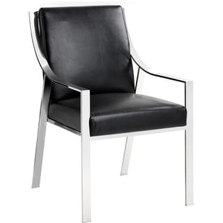 Sunpan Hyde Leather Dining Chair