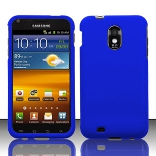 INSTEN Blue Hard Plastic Rubberized Matte Phone Case Cover For Samsung Galaxy S2 Epic 4G Touch