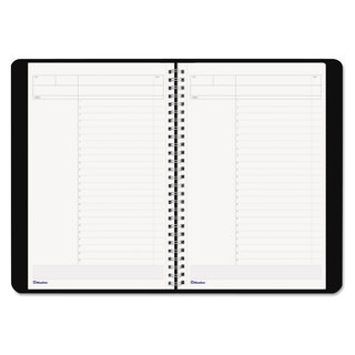 Blueline Duraflex Project Planner, 9 3/8 x 5 7/8, Black (Pack of 3)
