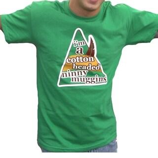 Men's 'I'm A Cotton Headed Ninny Muggins' Christmas Movie T-shirt