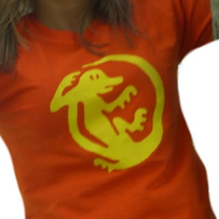 Women's Orange Iguanas Team T-shirt
